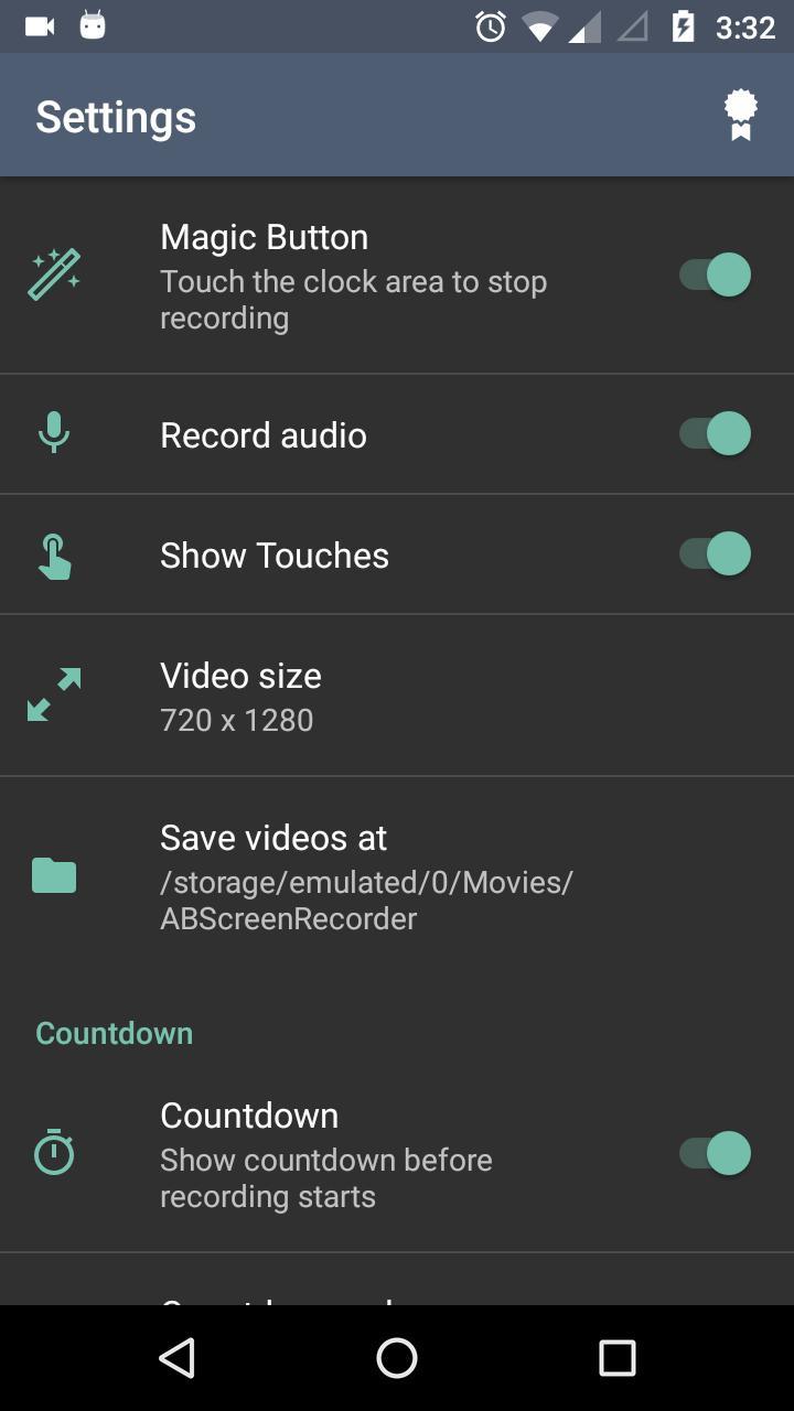 AB Screen Recorder Premium v2.8 Cracked APK [Latest] 4