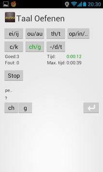 Taal oefenen apk screenshot