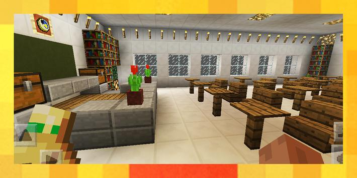 Town Highschool. Map for MCPE screenshot 16