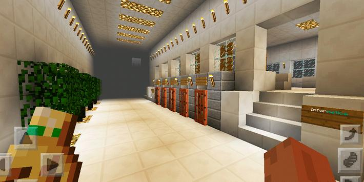 Town Highschool. Map for MCPE screenshot 19