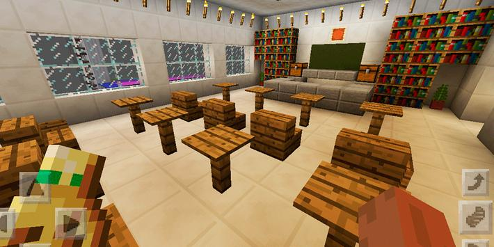 Town Highschool. Map for MCPE screenshot 20