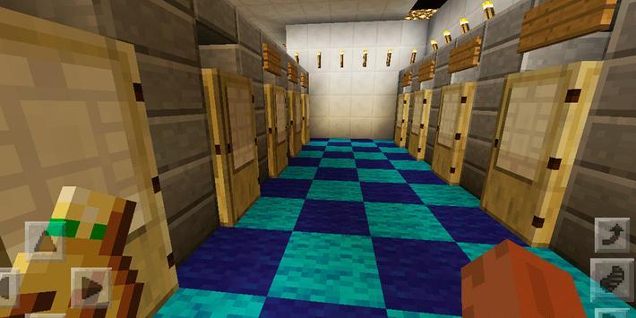 Town Highschool. Map for MCPE apk screenshot