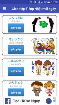 Giao tiếp Tiếng Nhật mỗi ngày screenshot 4