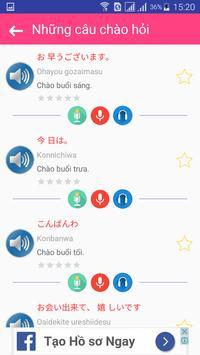 Giao tiếp Tiếng Nhật mỗi ngày screenshot 5