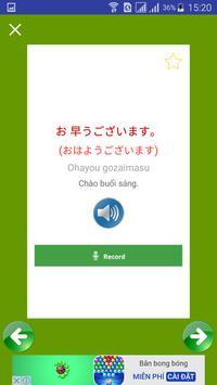 Giao tiếp Tiếng Nhật mỗi ngày screenshot 3