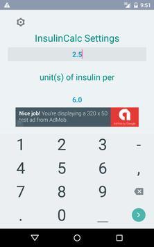 Insulin Calculator apk screenshot