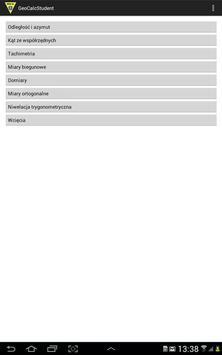 GeoCalcSt-Geodezja-Obliczenia screenshot 6