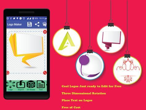 Logo maker 3d business card maker apk download free art design logo maker 3d business card maker poster reheart Gallery
