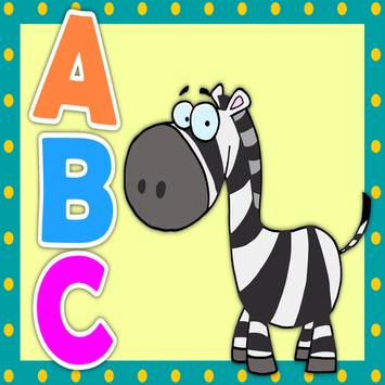 abc phonic sound - an app for kids to learn abc poster