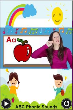 abc phonic sound - an app for kids to learn abc screenshot 1