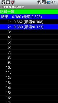 Easy Reflexes Measurement apk screenshot