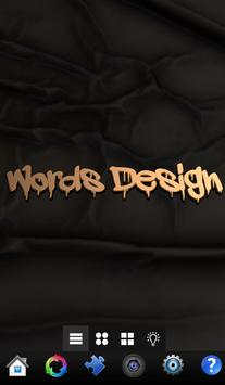 Words Design   تصميم الكلمات screenshot 9