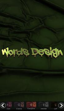 Words Design   تصميم الكلمات screenshot 22
