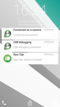 Lollipop Lockscreen apk screenshot