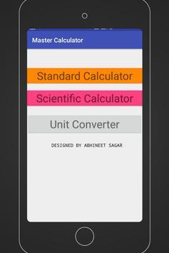 Master Calculator poster