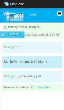 ChatLone MeetUp apk screenshot