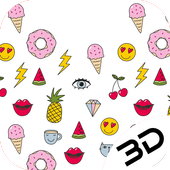 Abstract Cute Hand Drawn Depth Live Wallpaper icon