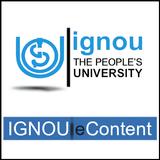 IGNOU e-Content