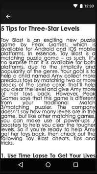 Guide Of TOY BLAST! screenshot 1