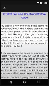Guide Of TOY BLAST! screenshot 2