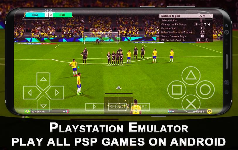 New Playstation Emulator - PPSSPP Gold for Android - APK
