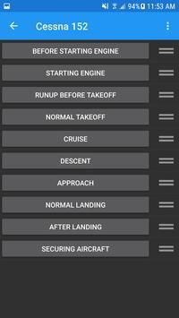 Aviation Speech Checklist screenshot 4