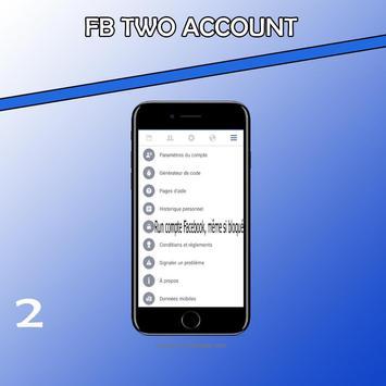 Two account fb pro screenshot 1