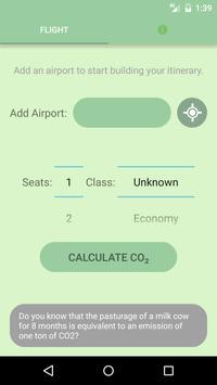Carbon Footprint Calculator poster