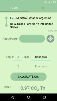Carbon Footprint Calculator apk screenshot