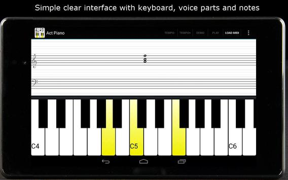 Act Piano Apk Download Free Music Audio App For Android