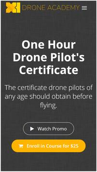Drone Academy poster