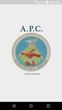 Alianza Pastoral Cristiana poster