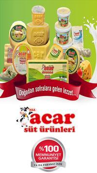 Acar Sut Urunleri poster