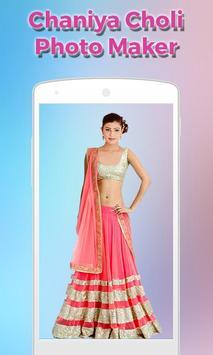 Women ChaniyaCholi Photo Maker screenshot 5