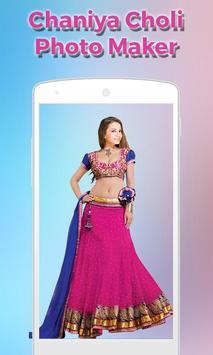 Women ChaniyaCholi Photo Maker screenshot 7