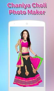 Women ChaniyaCholi Photo Maker screenshot 2