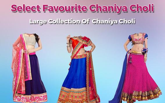 Women ChaniyaCholi Photo Maker screenshot 3