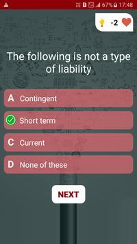 Accounting Quiz screenshot 2