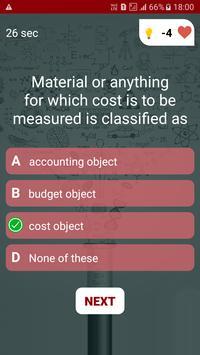 Accounting Quiz screenshot 3