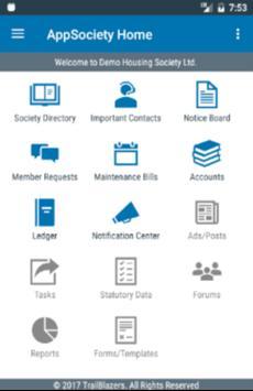AppSociety screenshot 1