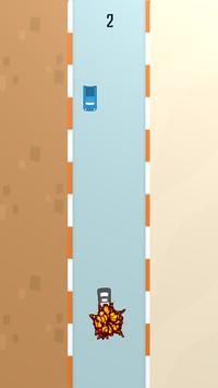 Racing Wrong Way - Car Race poster