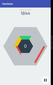 Hextetris apk screenshot