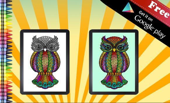 Adult Coloring Book screenshot 3