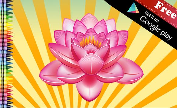 Adult Coloring Book Flowers Apk Screenshot
