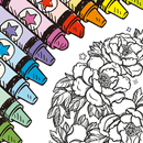 Free Coloring Book for Adults: ColorColor 2017 icon