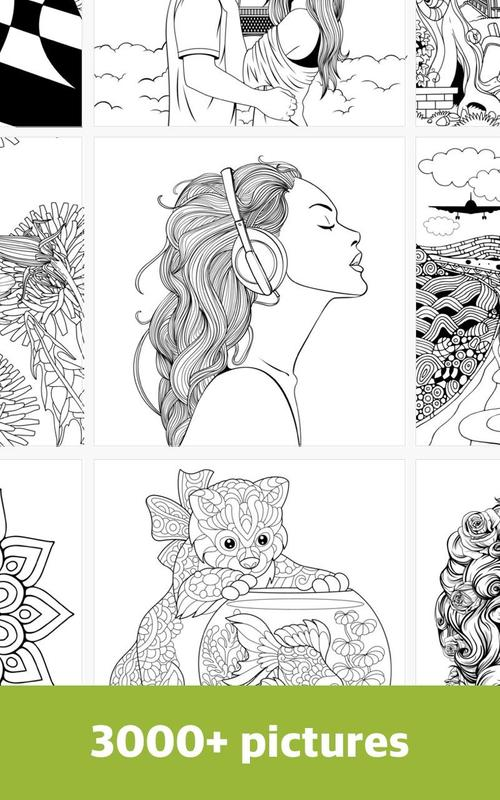 Free Coloring Books For Adults ColorColor 2018 APK