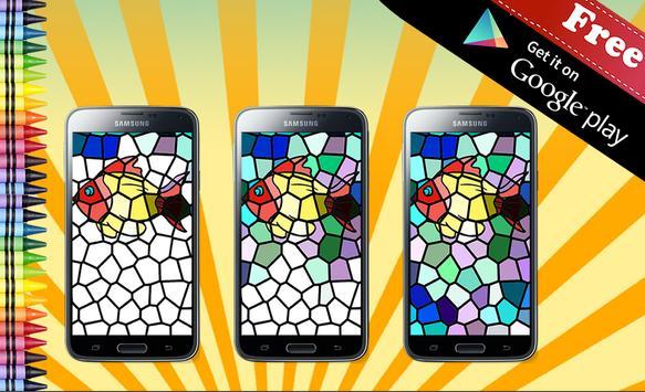 Adult Coloring Book Mosaic screenshot 14