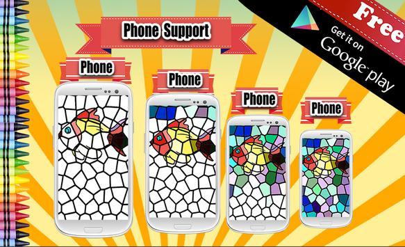 Adult Coloring Book Mosaic screenshot 12