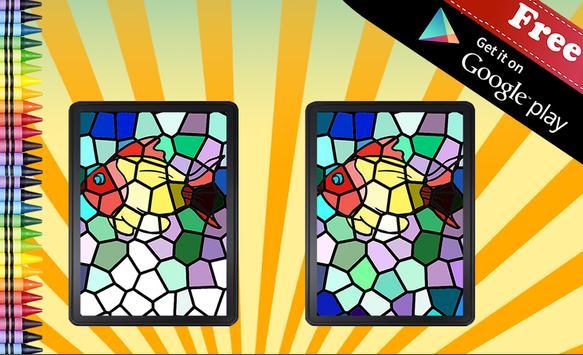Adult Coloring Book Mosaic screenshot 3