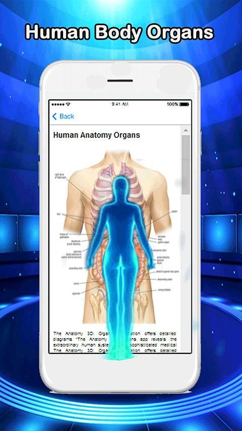 Anatomy of Human Body Organs poster
